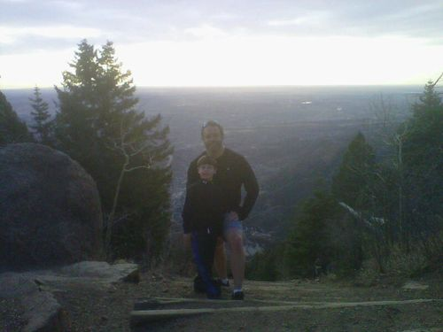 IMGgabe and me on top of incline